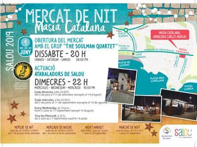 La Masia Catalana de Salou obre portes l'1 de juny amb una nova edició del Mercat de Nit