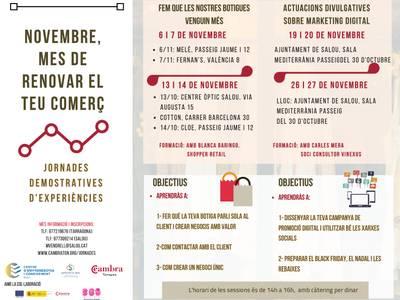La regidoria de Promoció Econòmica engega nova formació pels comerciants aquest mes de novembre