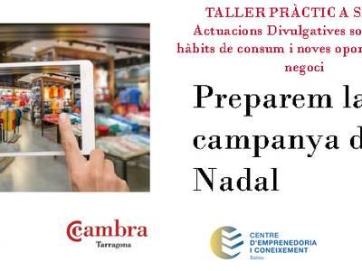"""Salou inicia un taller adreçat al comerç local, """"Preparem la campanya de Nadal"""""""