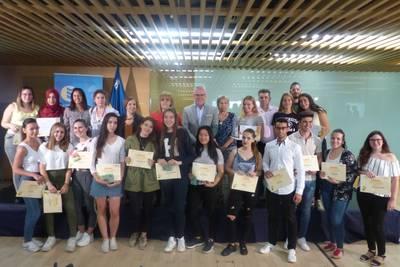 Salou premia les millors idees de negoci dins el programa l'Institut Emprèn
