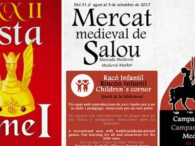 Salou tornarà a l'edat medieval en la XXII edició de la Festa del Rei Jaume I