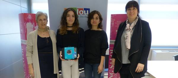 """Valentina Aliti guanyadora de la GoPro del concurs """"Aquest Nadal, regala petons"""""""