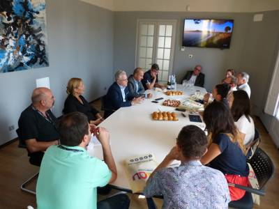 L'alcalde de Salou exposa a periodistes francesos el treball del municipi per esdevenir Destinació Turística Intel·ligent