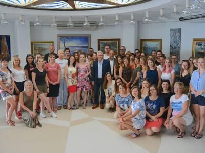 L'alcalde de Salou, Pere Granados, assisteix a una reunió de treball amb el tour operador Itaka perquè Salou esdevingui destinació principal pels turistes polonesos