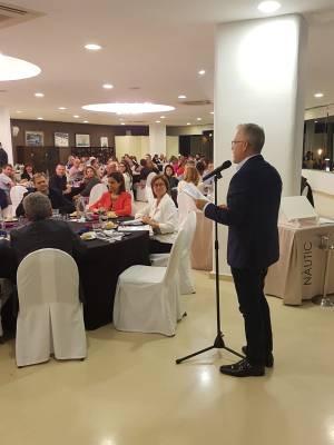 L'alcalde de Salou dóna la benvinguda a 100 agents de viatge de tota Espanya amb motiu del Costa Daurada Life