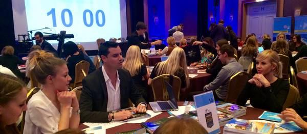 La Costa Daurada es promociona a Polònia davant de 200 agents de viatges
