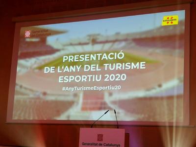 Salou assisteix a la presentació de l'Any del Turisme Esportiu a Catalunya 2020