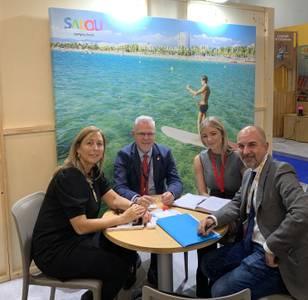 Salou assisteix a la World Travel Market de Londres i recull  bones sensacions del mercat britànic, per a l'any vinent