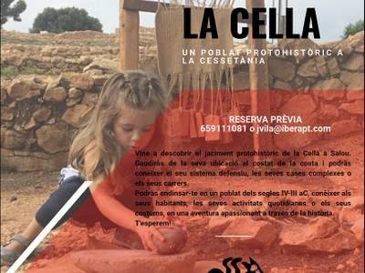 """Salou organitza noves visites guiades al jaciment arqueològic de """"La Cella"""""""