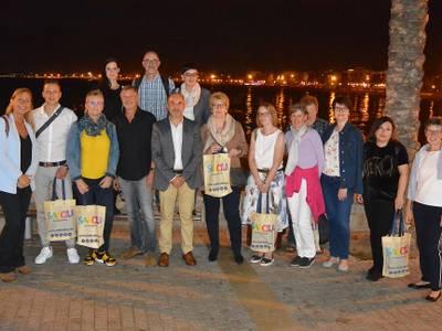 Salou rep un fam trip d'agents de viatge de l'Associació RTK alemanya