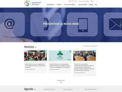 L'Ajuntament de Salou estrena nou portal web