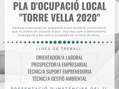 """ANUNCI DEL LLISTAT DEFINITIU DE PERSONES ADMESES I EXCLOSES DEL PROCÉS SELECTIU CONVOCAT PER A L'ACCÉS AL PLA D'OCUPACIÓ LOCAL """"TORRE VELLA 2020"""" DE L'AJUNTAMENT DE SALOU"""