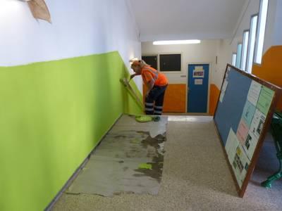 Foto de la visita a l'escola
