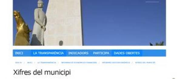 El Portal de la Transparència de Salou incrementa la informació amb un nou apartat relatiu a les xifres econòmiques del municipi