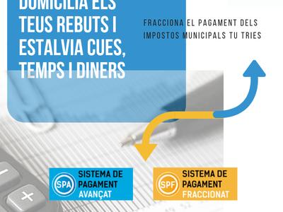 L'Ajuntament de Salou modifica les condicions dels Sistemes de Pagament de tributs avançats i fraccionats
