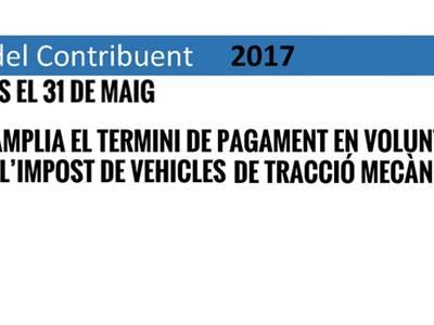 Salou amplia el termini de pagament en voluntària de l'impost de vehicles de tracció mecànica