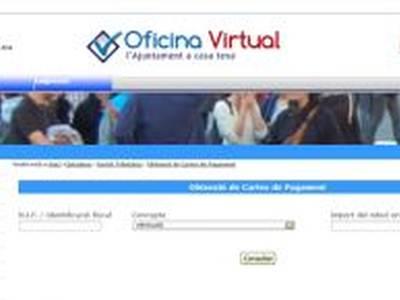 Salou habilita nous serveis de pagament on line i d'obtenció de cartes de pagament