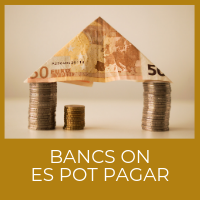Bancs on es pot pagar