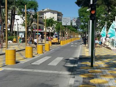 El projecte de reconversió en zona de vianants de l'Avinguda Carles Buïgas rep una subvenció de prop de 30.000 euros