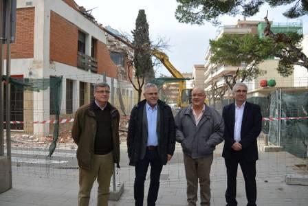L'Ajuntament de Salou inicia l'enderroc de l'Hostal Bona Estada