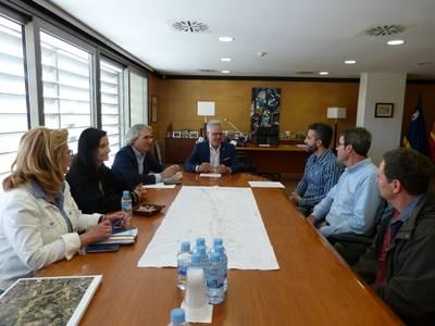 L'Alcalde es reuneix amb l'associació de veïns de Barenys