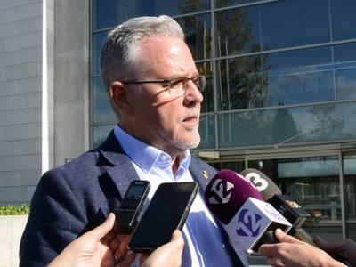 L'alcalde Pere Granados, satisfet amb l'acord del Govern que farà possible la compra dels terrenys per construir Hard Rock