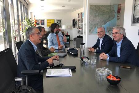 """Pere Granados: """"properament es prevista la licitació de tres projectes pel desenvolupament del TrenTram"""""""