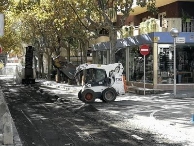 S'inicien les obres de reparació del paviment de diversos vials del municipi
