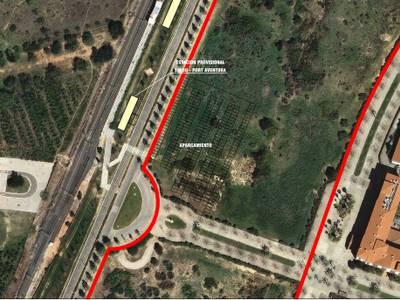 Salou preveu un espai per aparcament al costat de la futura estació de trens Salou-PortAventura