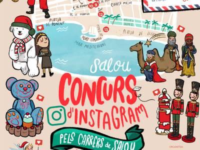 'Pels carrers de Salou', el nou concurs d'Instagram per descobrir les figures de Nadal