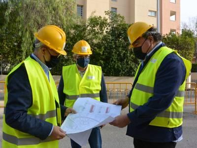 A bon ritme, les obres de renovació urbana del carrer del Terrer i adjacents