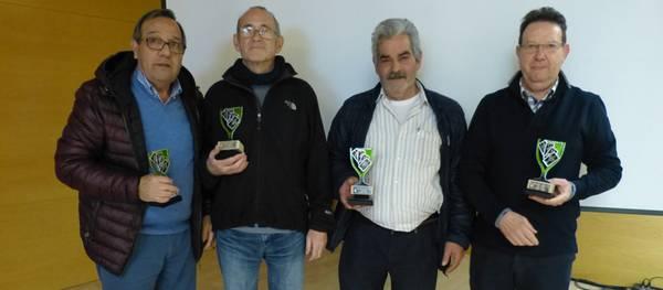 La parella Royes-Trench, guanyadors del Campionat Local de Botifarra de Festa Major