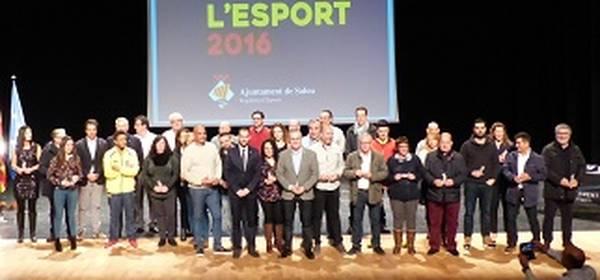Salou premia l'esforç dels clubs i esportistes locals durant la 5a Nit de l'Esport