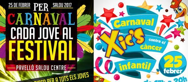 Salou organitza la festa del carnaval amb finalitats solidàries per a joves i infants