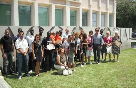 Acció Social clausura el taller formatiu d'Higiene Mental i el taller de formació al nouvingut/da, amb el lliurament de diplomes