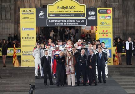 Barcelona dona tret de sortida a la 48 edició del RalyRACC Catalunya Costa Daurada
