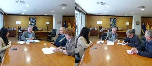 Benestar i Serveis socials de Salou renova el conveni de col·laboració amb Càritas Interparroquial i amb la Associación de Asistencia Social Eluzai