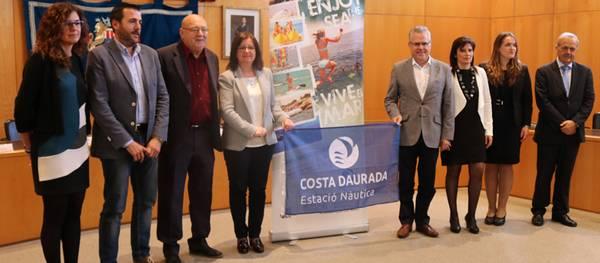 Cambrils, Salou, Mont-roig, Vandellòs-Hospitalet i l'Ametlla de Mar signen el conveni amb l'Estació Nàutica Costa Daurada per fomentar el turisme nàutic
