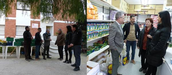 Cáritas i Eluzai reben més de 500Kg d'aliments solidaris obtinguts en el dia solidari del Parc Infantil de Nadal