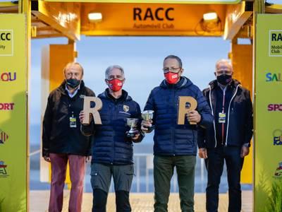 Carles Miró-Ivan Matavacas (Porsche) guanyen per segona vegada el Rally Catalunya Històric
