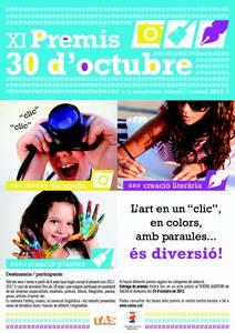 Cultura dóna a conèixer les bases de l'onzena edició dels Premis 30 d'Octubre a la creativitat infantil i juvenil