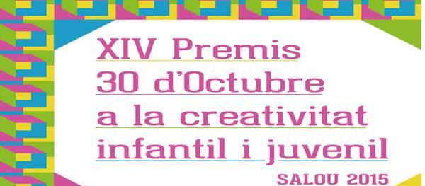 Cultura dóna a conèixer les bases de la catorzena edició dels Premis 30 d'Octubre a la creativitat infantil i juvenil