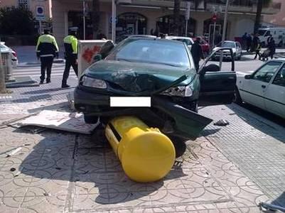 Detingut un conductor a Salou per delictes contra la seguretat del trànsit