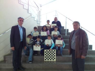El Club d'Escacs Salou celebra el fi de curs escolar