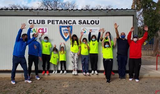 El Club Petanca Salou posa en marxa la primera Escola a Catalunya