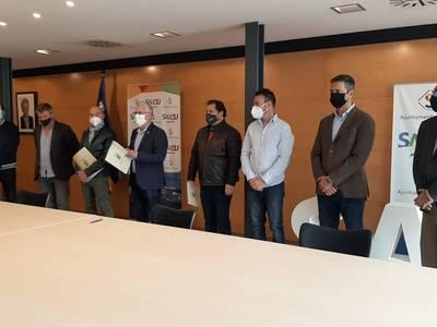 El Govern municipal de Salou i els comerciants i restauradors signen un manifest on demanen a la Generalitat que reobri els establiments del sector de l'hostaleria, fent compatible la salut amb l'activitat econòmica