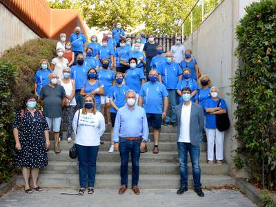 El Grup Anem a Caminar de Salou realitza el Camí de Santiago, a través d'un recorregut virtual pels diferents trams