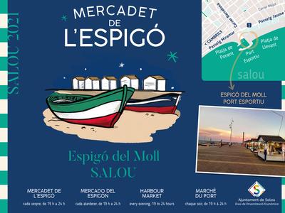 El Mercadet de l'Espigó torna a Salou, aquest proper dissabte, 12 de juny, i fins al 15 de setembre