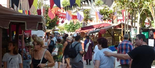 El mercat medieval de Salou tanca les portes amb uns 22 mil visitants