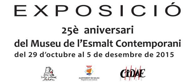 El Museu de l'Esmalt Contemporani de Salou compleix 25 anys i ho celebra amb una mostra commemorativa